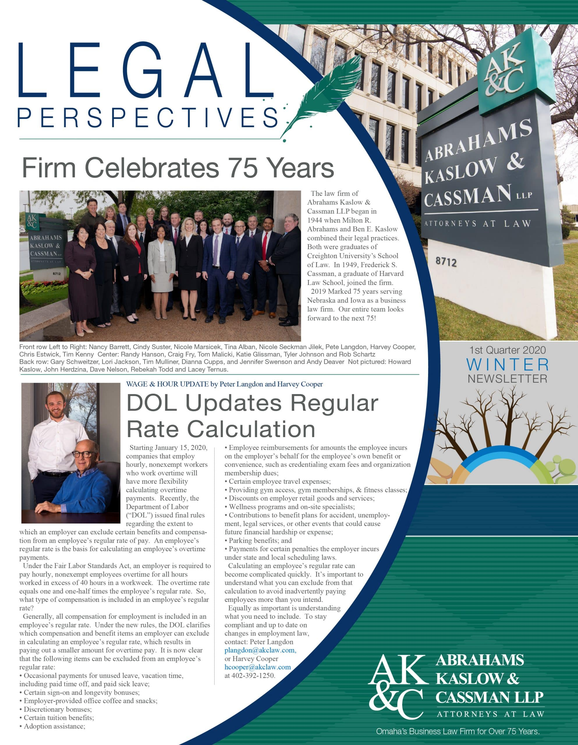 AKC Law Newsletter