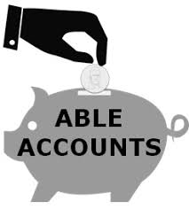 Piggy bank labelled Able Accounts