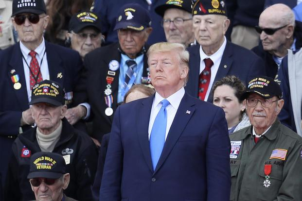 President Trump with Veterans