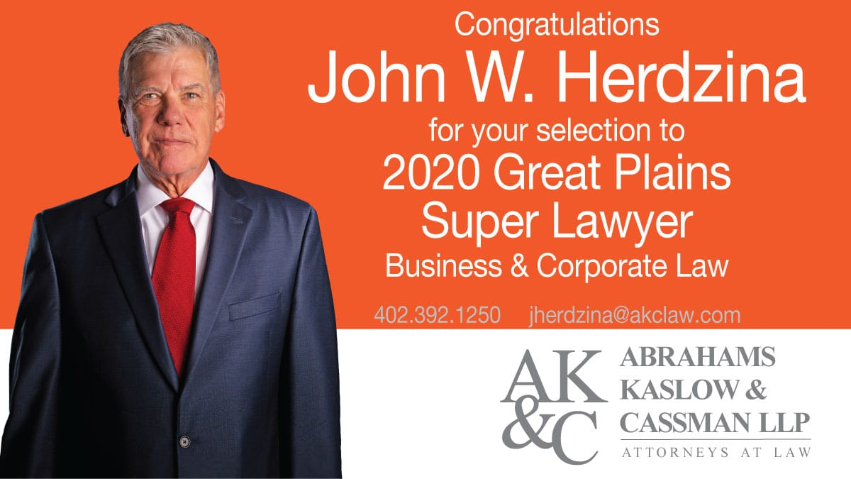 John Herdzina named to Super Lawyers