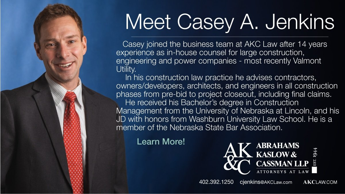 Photo of Casey Jenkins - Casey is a new attorney at Abrahams Kaslow & Cassman LLP