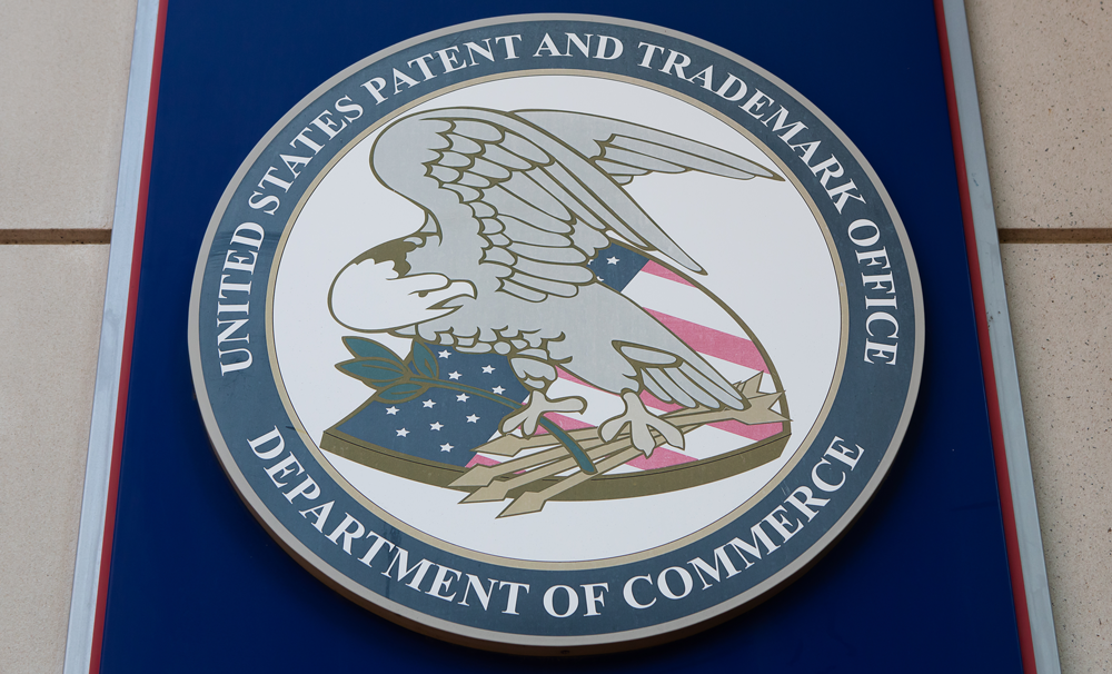 Image of United States Patent Office logo AKC Law can help you with trademark law
